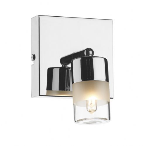 Artemis Single Wall Bracket Polished Chrome IP44  (Class 2 Double Insulated) BXART7150-17